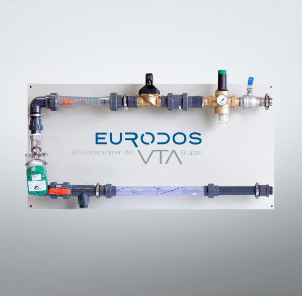 Eurodos post-dilution station